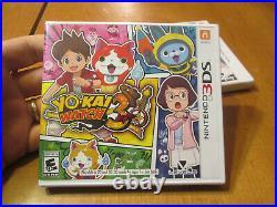 Yo-kai Watch 3 NINTENDO 3DS BRAND NEW FACTORY SEALED US EDITION RARE