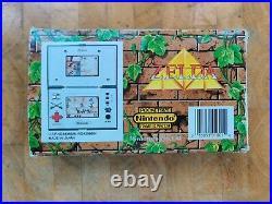ZELDA ZL-65 1989 Super rare! NINTENDO GAME AND WATCH