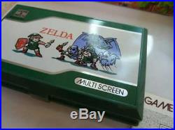 Zelda Boxed Nintendo Game And (&) Watch Game