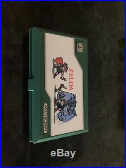 Zelda Boxed Nintendo Game & Watch Cib One Owner Very Good Condition