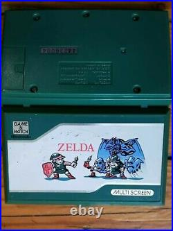 Zelda Game And Watch Nintendo Multiscreen Vintage Handheld Seller Rare