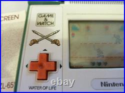 Zelda Nintendo Game & Watch Game Zl-65 Boxed