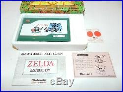 Zelda Nintendo Game & Watch Multi Screen Handheld System ZL-65 NEW NRMT